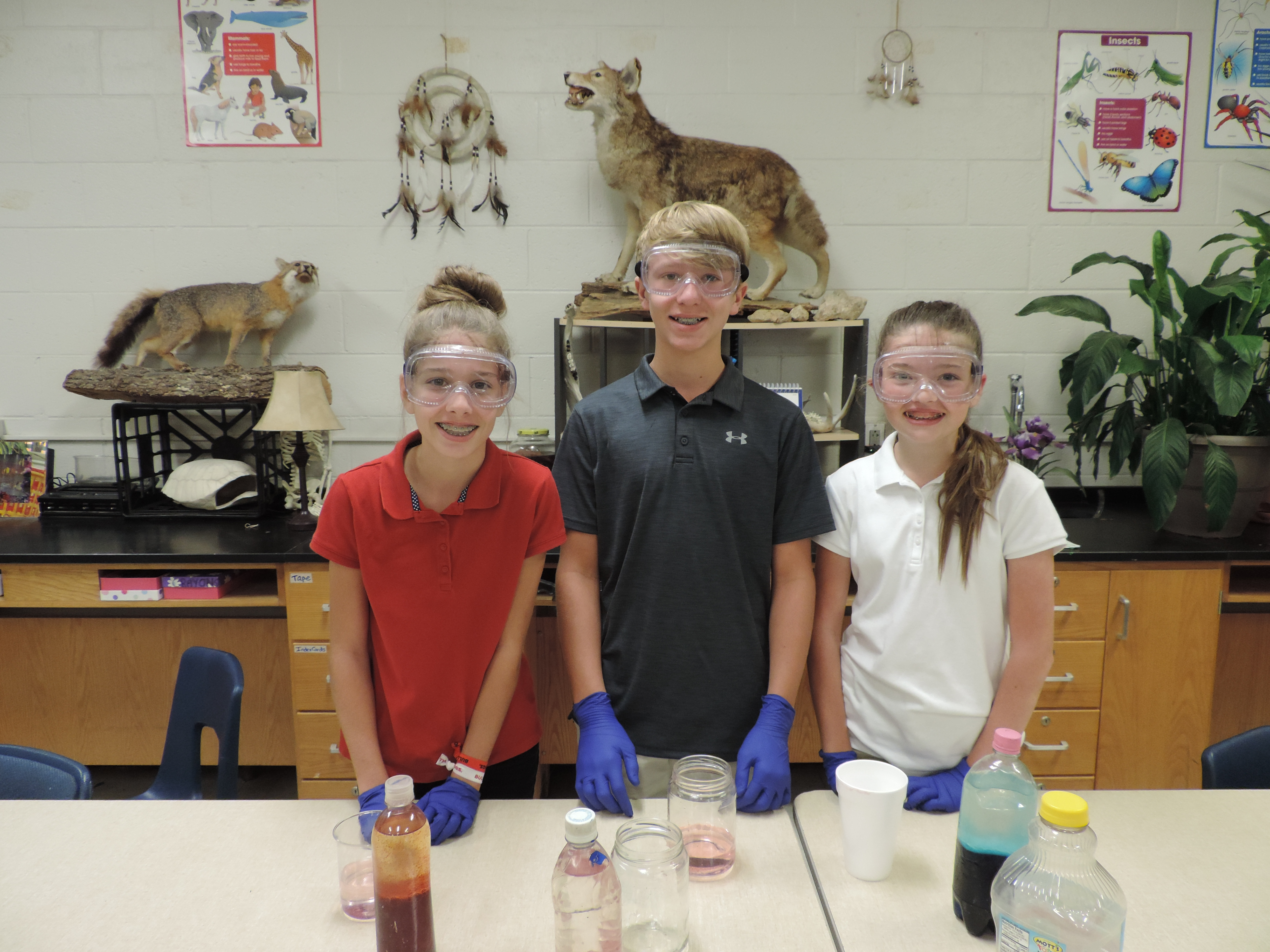 Mrs. Smith's 7th Grade Scientists